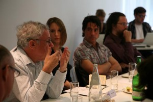 participants at Artificial Intelligence Lunch Debate
