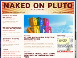 Naked on Pluto